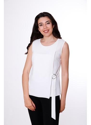 Clıche Bluz Beyaz
